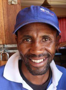 Ntate David Nkhbane Mokala, portrait by Kelly Benning