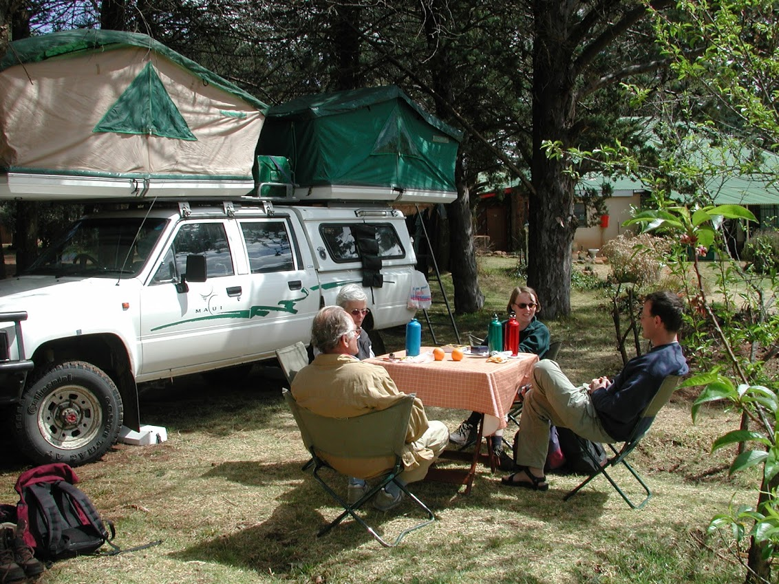 camping in lesotho