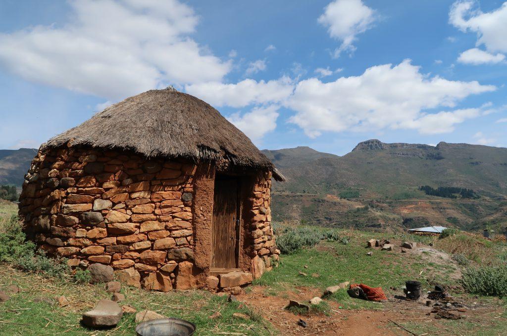 Village Rondavel, photo by Kelly Benning
