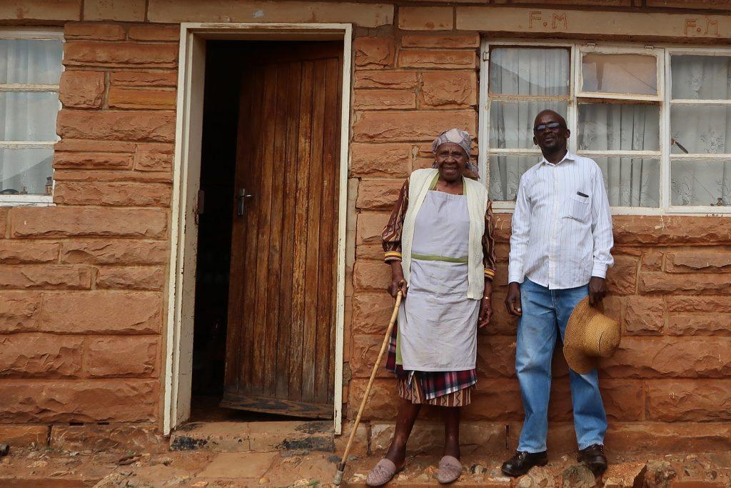 Maseretse and Albert Musi, photo by Kelly Benning