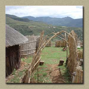 Local Museum in a Traditional Hut & a Basotho Homestay