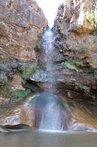 Botsoela Waterfall, photo by Kelly Benning