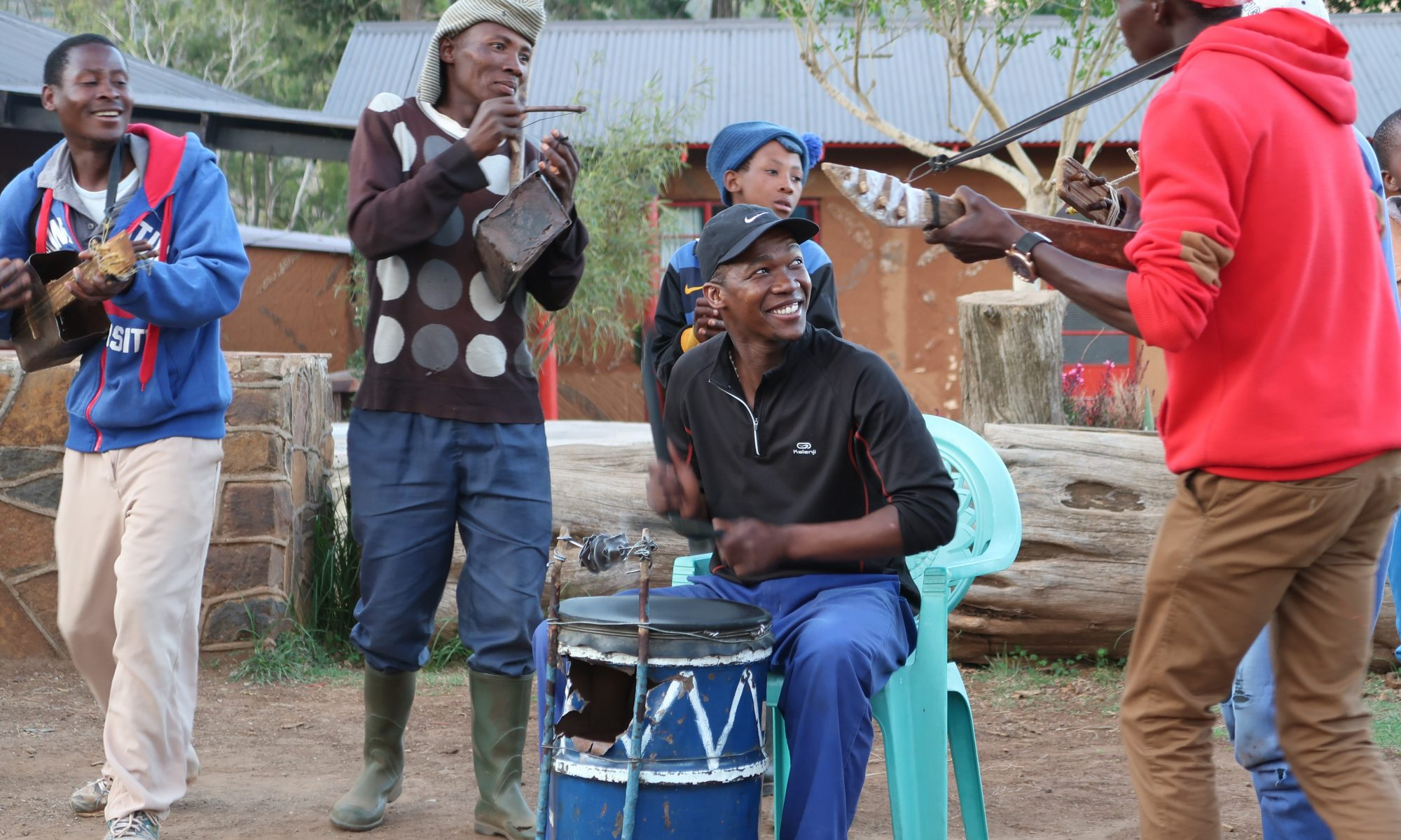 Phoka Koatja & the Malealea Band, photo by Kelly Benning